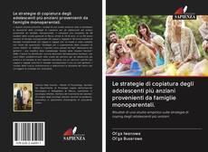 Couverture de Le strategie di copiatura degli adolescenti più anziani provenienti da famiglie monoparentali.