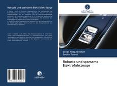 Обложка Robuste und sparsame Elektrofahrzeuge