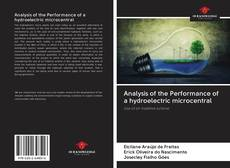Portada del libro de Analysis of the Performance of a hydroelectric microcentral