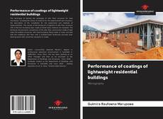 Bookcover of Performance of coatings of lightweight residential buildings