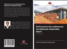 Bookcover of Performance des revêtements des bâtiments résidentiels légers