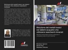 Buchcover von Riduzione dei metalli tossici nei sistemi acquatici che utilizzano assorbenti minerali