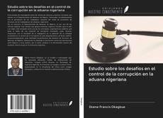 Portada del libro de Estudio sobre los desafíos en el control de la corrupción en la aduana nigeriana