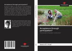 Bookcover of Acceptance through participation?