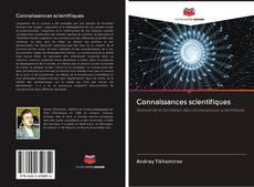 Couverture de Connaissances scientifiques