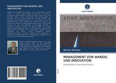 Portada del libro de MANAGEMENT VON WANDEL UND INNOVATION