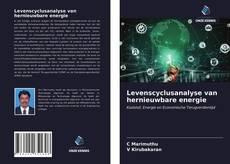 Levenscyclusanalyse van hernieuwbare energie kitap kapağı