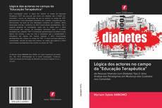 """Capa do livro de Lógica dos actores no campo da """"Educação Terapêutica"""""""