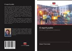 Обложка O esprit public