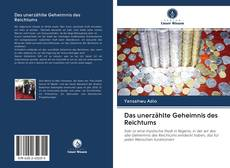 Обложка Das unerzählte Geheimnis des Reichtums
