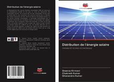 Обложка Distribution de l'énergie solaire