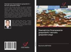 Portada del libro de Zewnętrzne finansowanie gospodarki i wzrostu gospodarczego