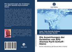 Buchcover von Die Auswirkungen der Oxidation von KPS (Kamoa-Pyrit-Schluff-Stein)