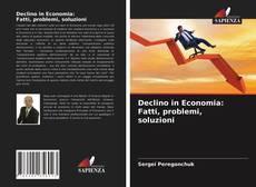 Bookcover of Declino in Economia: Fatti, problemi, soluzioni