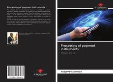 Couverture de Processing of payment instruments