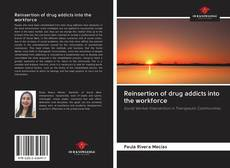 Couverture de Reinsertion of drug addicts into the workforce