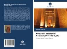 Buchcover von Kultur der Badarer im Neolithikum (4400-4000)