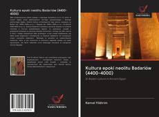 Buchcover von Kultura epoki neolitu Badariów (4400-4000)