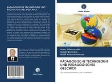 PÄDAGOGISCHE TECHNOLOGIE UND PÄDAGOGISCHES GESCHICK kitap kapağı