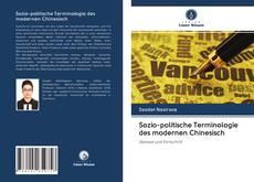 Buchcover von Sozio-politische Terminologie des modernen Chinesisch