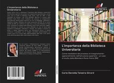 L'importanza della Biblioteca Universitaria kitap kapağı
