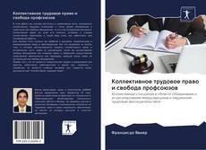 Обложка Коллективное трудовое право и свобода профсоюзов