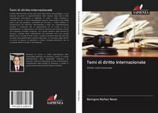 Portada del libro de Temi di diritto internazionale
