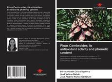 Buchcover von Pinus Cembroides; its antioxidant activity and phenolic content