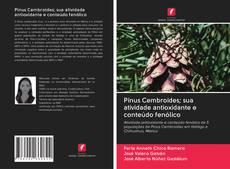 Capa do livro de Pinus Cembroides; sua atividade antioxidante e conteúdo fenólico