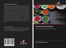Bookcover of Chimica alimentare