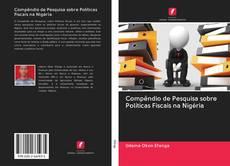 Capa do livro de Compêndio de Pesquisa sobre Políticas Fiscais na Nigéria