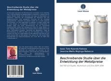 Buchcover von Beschreibende Studie über die Entwicklung der Metallpreise