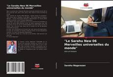 """""""Le Sarahu New 06 Merveilles universelles du monde"""" kitap kapağı"""