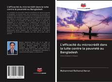 Bookcover of L'efficacité du microcrédit dans la lutte contre la pauvreté au Bangladesh