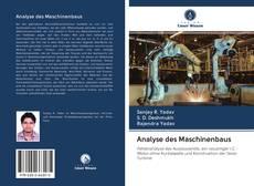 Capa do livro de Analyse des Maschinenbaus