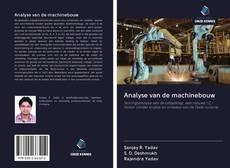 Borítókép a  Analyse van de machinebouw - hoz