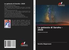 Portada del libro de La galassia di Sarahu -2020