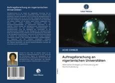 Bookcover of Auftragsforschung an nigerianischen Universitäten