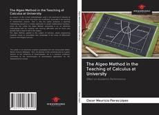 Capa do livro de The Algeo Method in the Teaching of Calculus at University