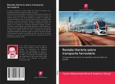 Buchcover von Revisão literária sobre transporte ferroviário