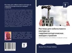 Capa do livro de Раствор для кобальтового контура на гидрометаллургических заводах строения