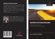 KAPITAŁ PSYCHOLOGICZNY的封面