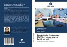 Обложка Eine kritische Analyse der EFL/ESL-Problematik im Tertiärbereich