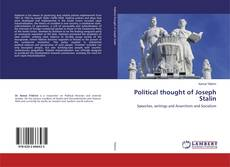 Bookcover of Political thought of Joseph Stalin