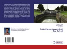 Bookcover of Finite Element Analysis of Box Culvert