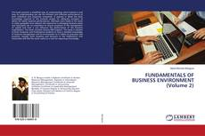 Bookcover of FUNDAMENTALS OF BUSINESS ENVIRONMENT (Volume 2)