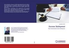 Copertina di Escrow Sözleşmesi