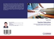 Couverture de Teacher Education