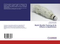 Bookcover of Multi Shuttle Training & its Effects in Badminton