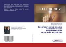 Bookcover of Энергетический анализ экономической эффективности сельского хозяйства